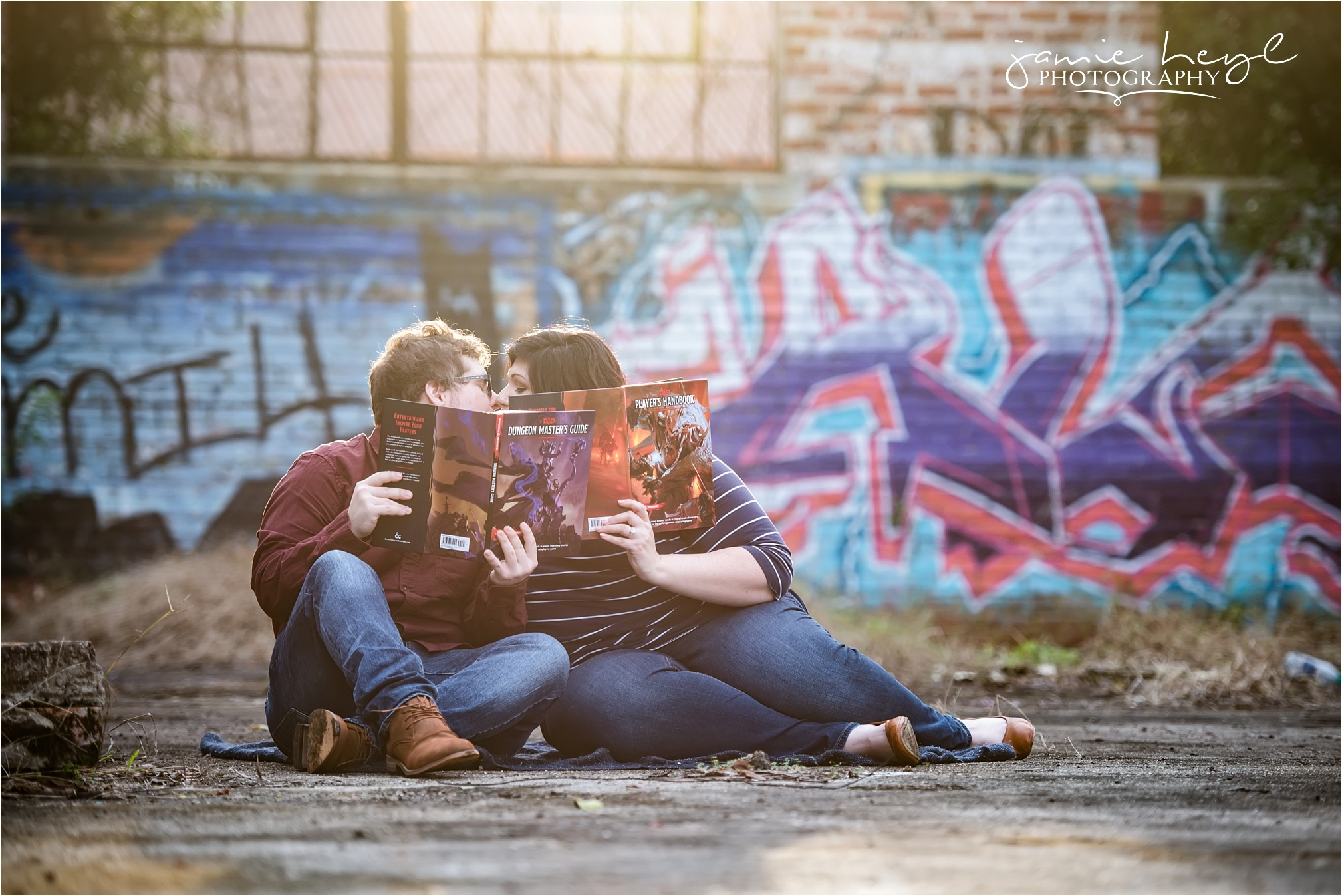Dungeons and Dragons engagement photo