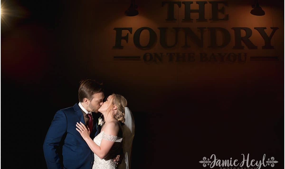 Wedding photos at The Foundry